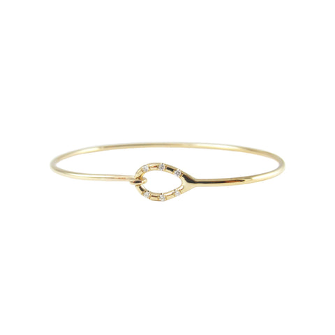 DIAMOND LOOP BRACELET