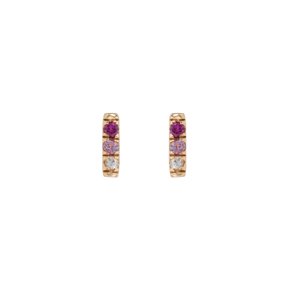 PINK EQUILIBRIUM STUD (SINGLE)