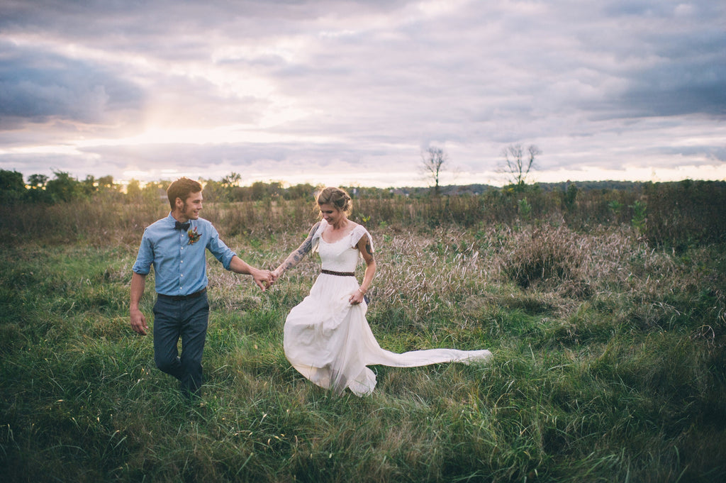 Olivia Harlow Wedding - SuzannaM Laurence Handmade Gown 1