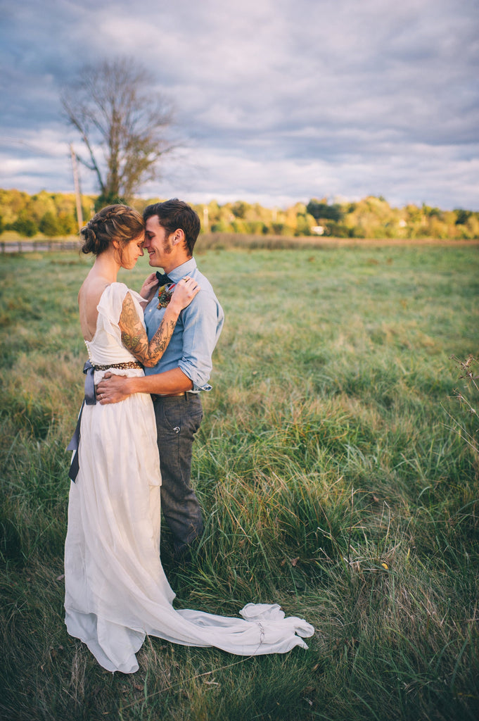 Olivia Harlow Wedding - SuzannaM Laurence Handmade Gown 18