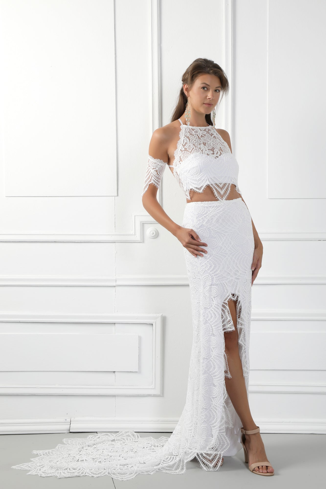 MILA Handmade Two Piece Wedding Dress