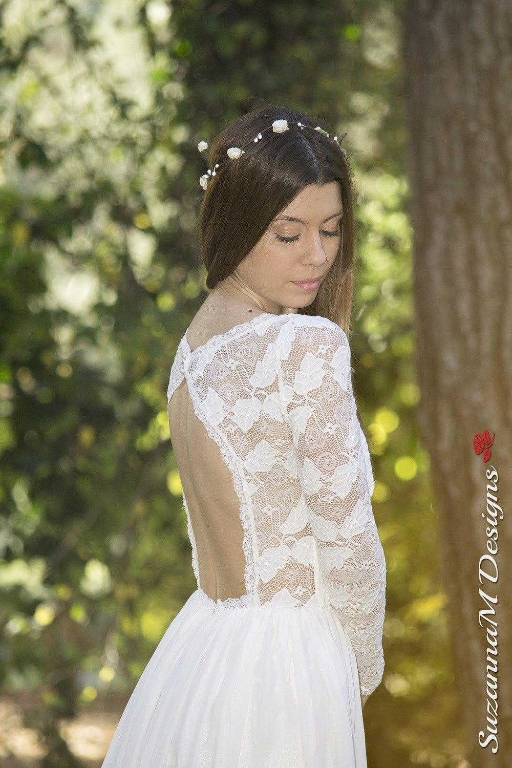 Agape Handmade Vintage Wedding Dress
