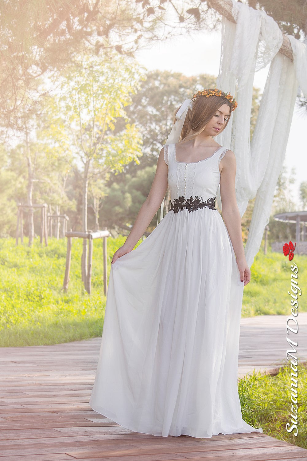 Candice Handmade Lace Wedding Dress