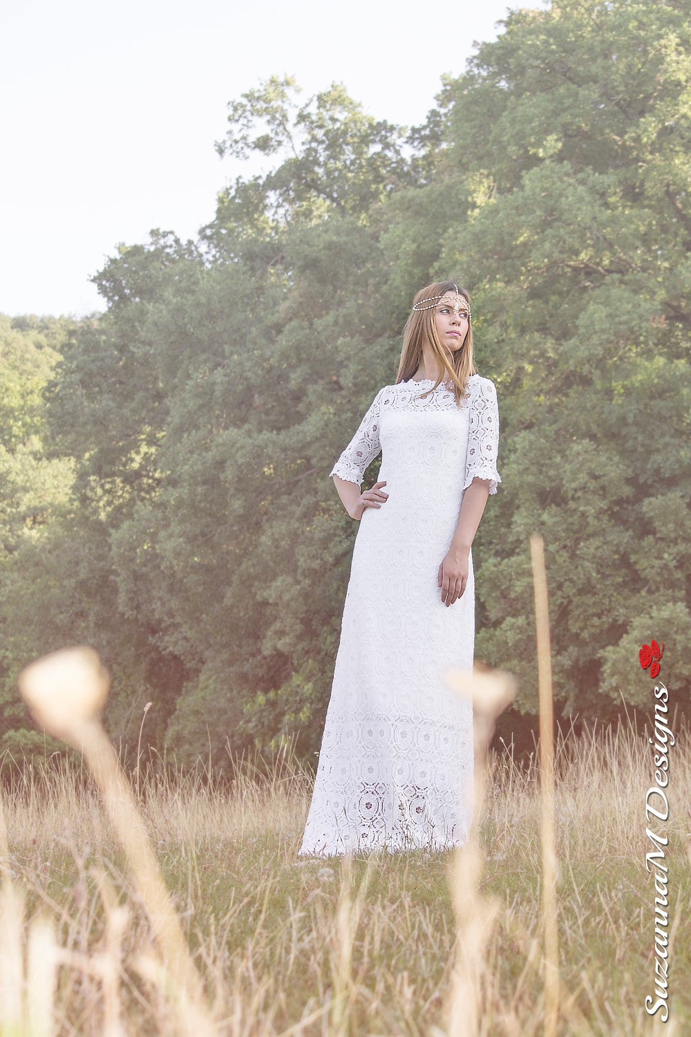 Capucine Handmade Cotton Wedding Dress
