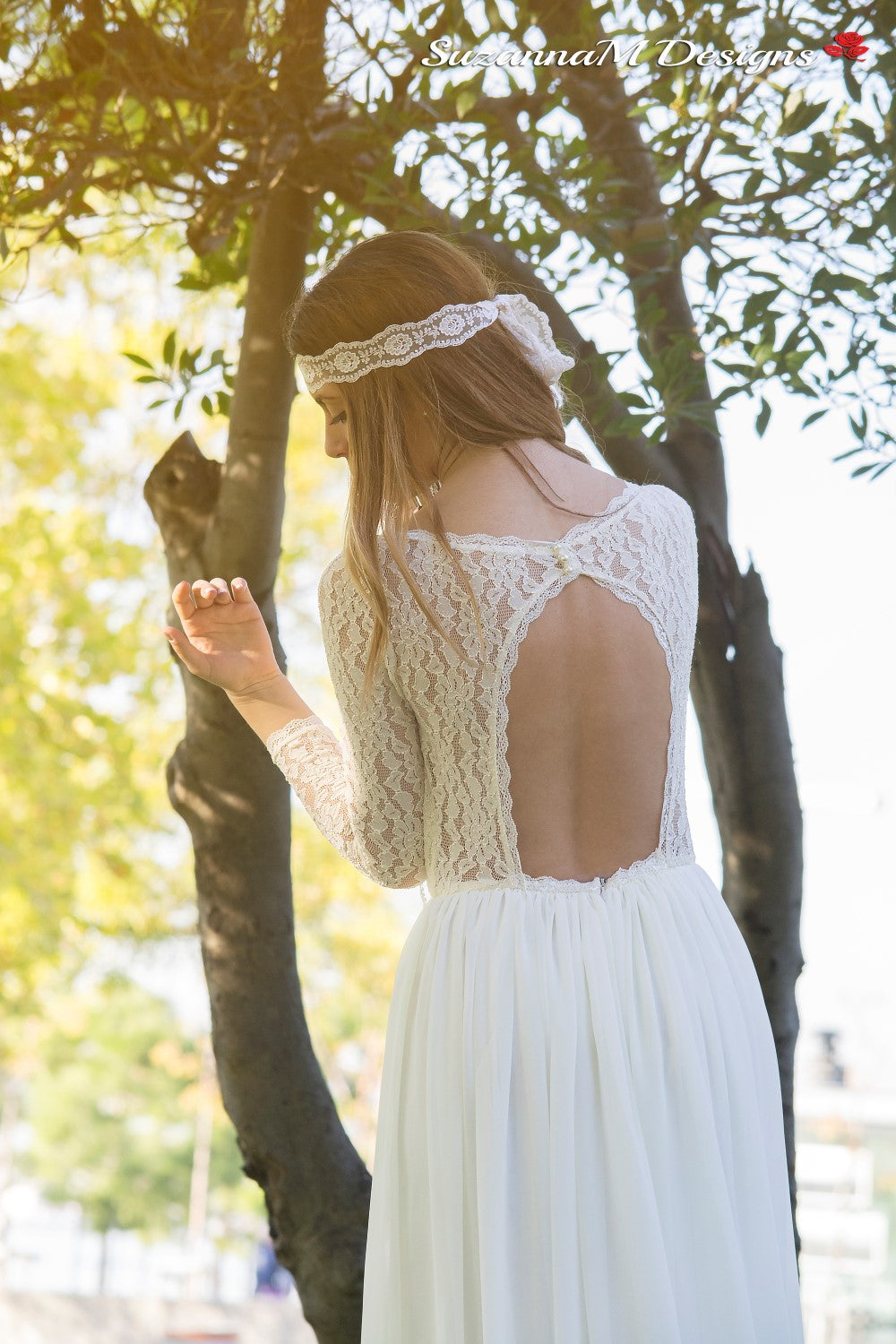Clemence Handmade Bohemian Wedding Dress