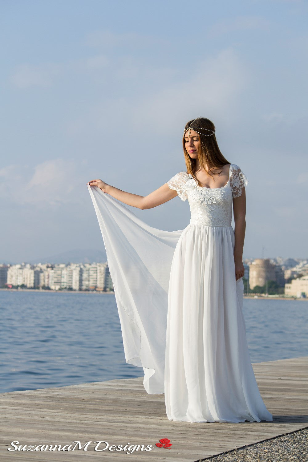 Alice Handmade Boho Wedding Gown
