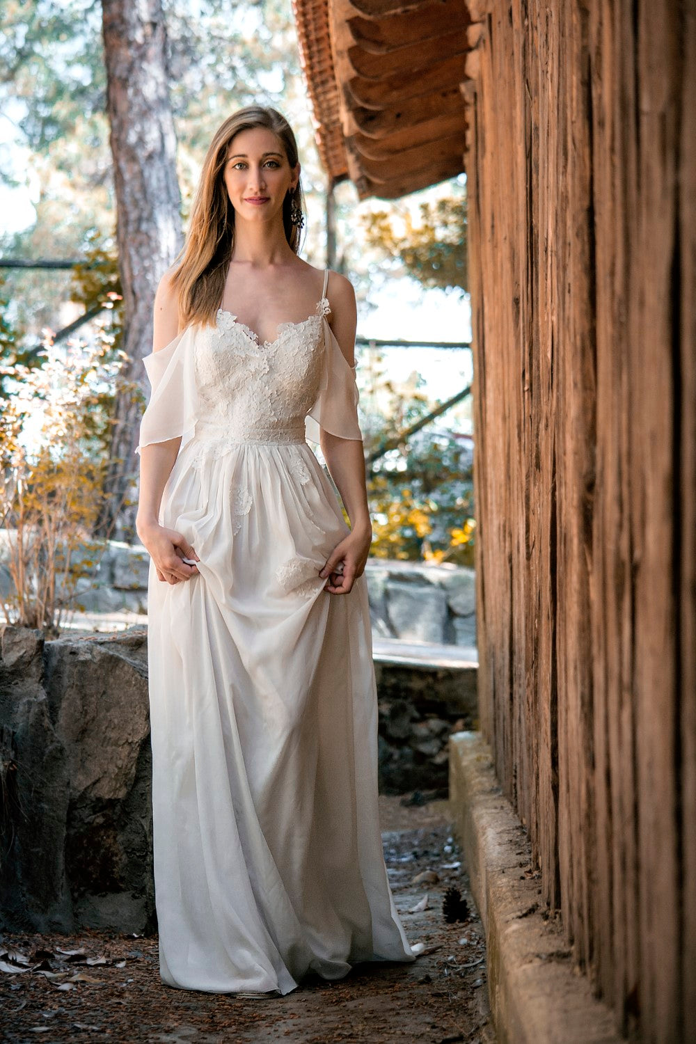 Erna Handmade Summer Beach Wedding Dress