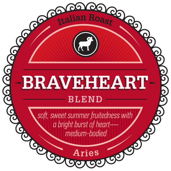 "Celebrating Aries with our Featured Birthday Blend - ""Braveheart"""