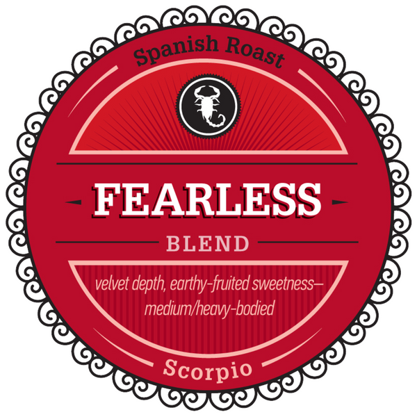 "Celebrating Scorpio with our Featured Birthday Blend - ""Fearless"""