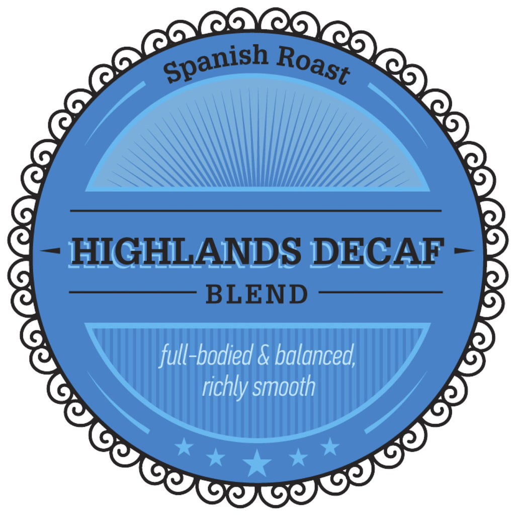 (5 lbs) Highlands Decaf Blend