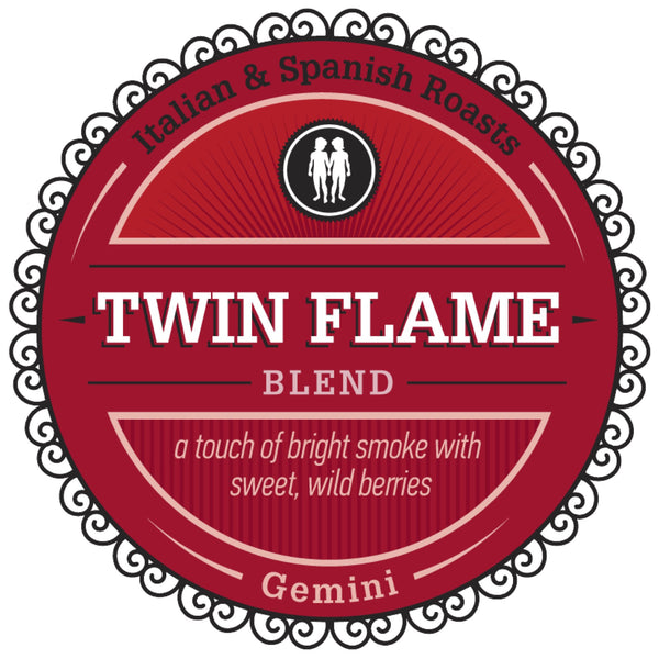 "Celebrating Gemini with our Featured Birthday Blend - ""Twin Flame"""