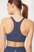 Daniela Seamless Sport Bra (Blue Nights)