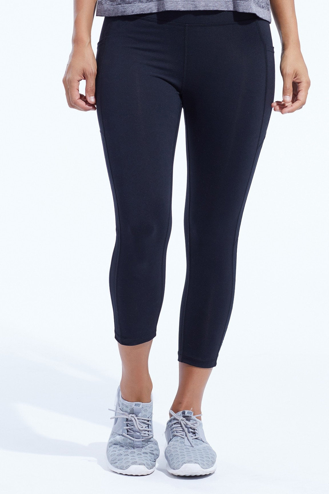 Brooke High Rise TC Pocket Capri
