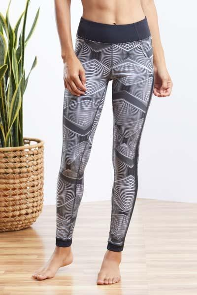 Geo Printed Legging