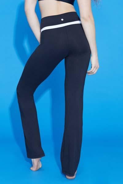 Blocked Slim Boot Pant