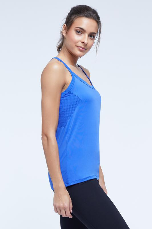 Toning Singlet (muscari blue)