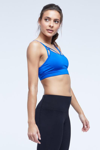 Rachel Sports Bra (blue bolt)
