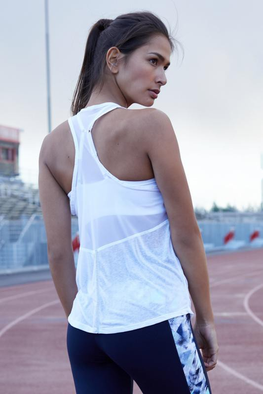 Game on Singlet (white)