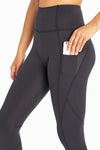 Lorena High Waist Capri (Black)