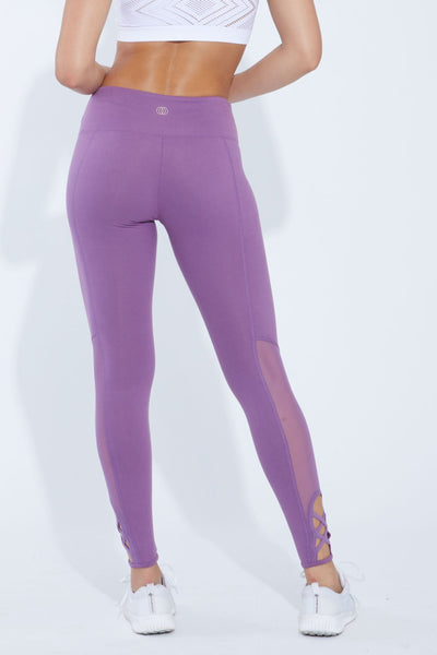 Gigi High Waist Legging (concord grape)