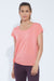 Dolman Side Tie Tee (heather georgia peach)