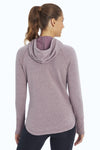 Hattie Hoodie (Heather Black Plum)