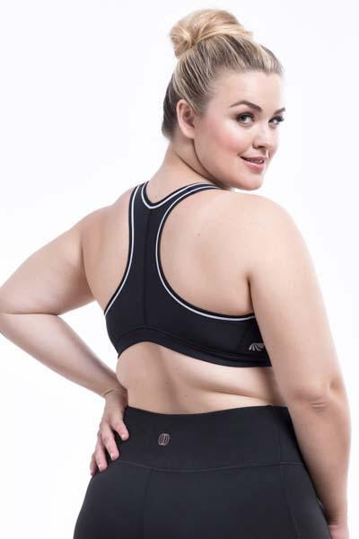 Adriana Sports Bra (black/white)