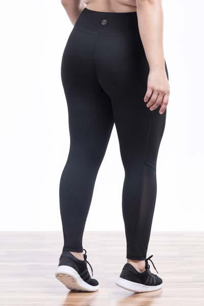Melodie Mesh Panel Legging