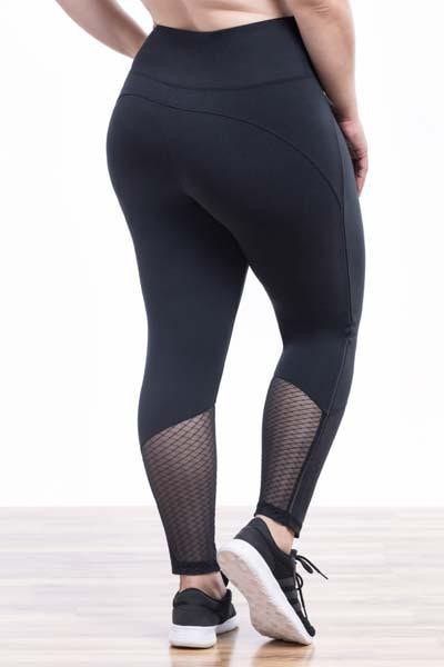 Eleana Legging (black shattered glass)
