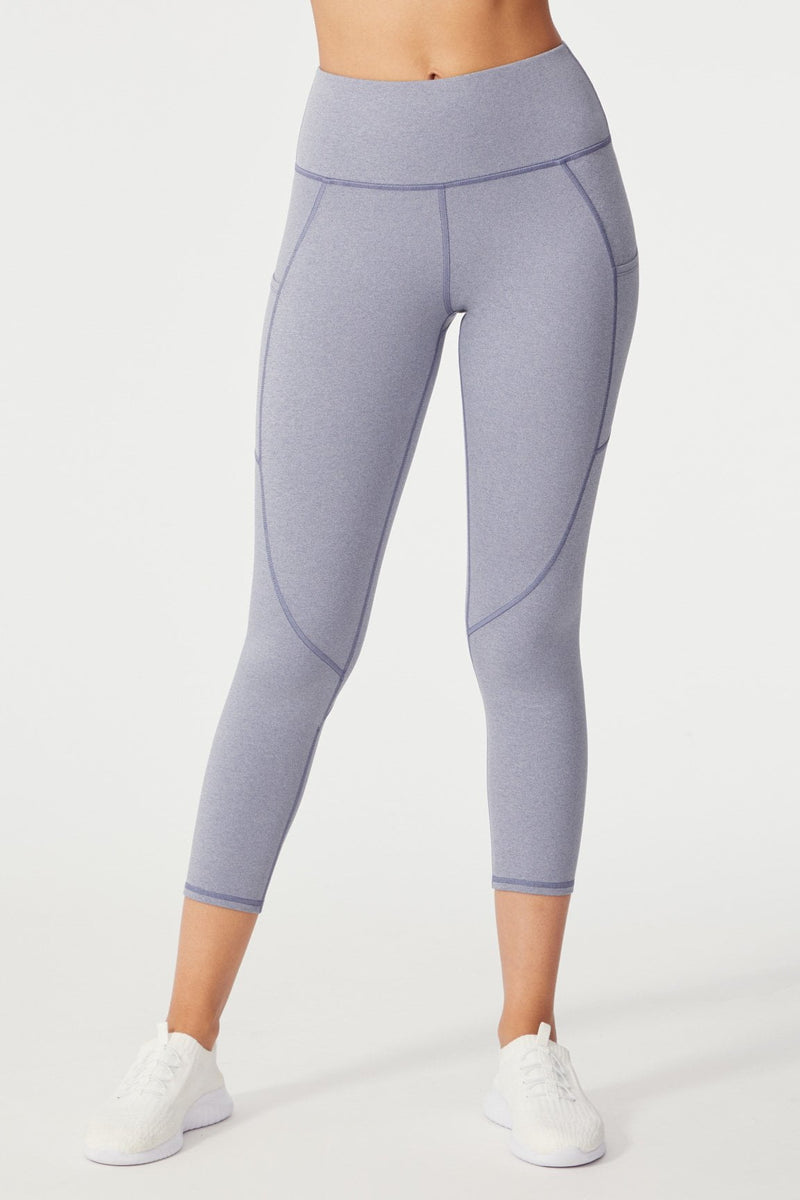Theresa Tummy Control Ankle Legging (H. Crown Blue)