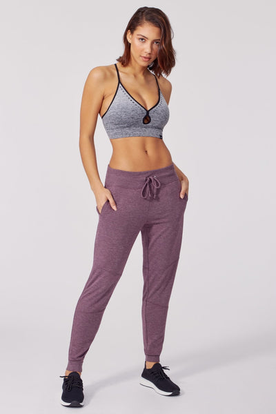 Ember Jogger (Heather Wild Plum)