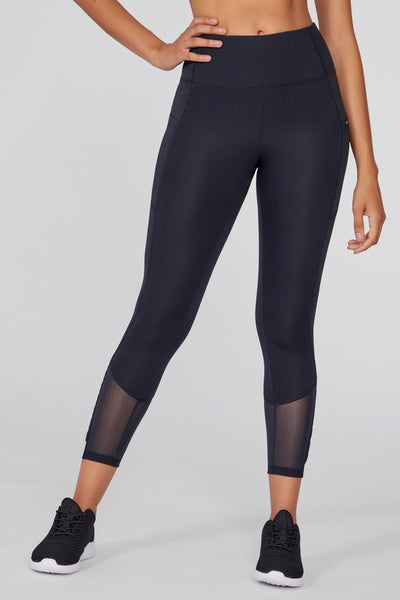Aiden Pleated Legging (Black)