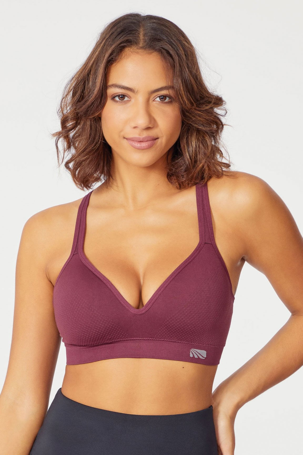 Seamless Molded Cup Sport Bra (Fig)