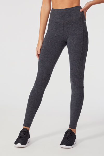 Ultimate Slimming Legging ( Heather Charcoal)