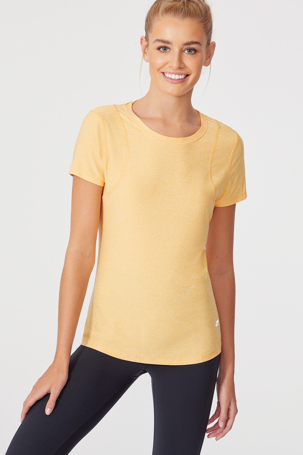 Finish Line Short Sleeve (Heather Artisan's Gold)