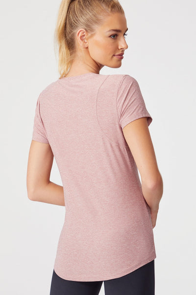 Finish Line Short Sleeve (Heather Nostalgia Rose)