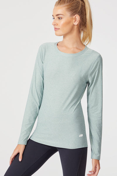 Finish Line Long Sleeve (H. Slate Grey)