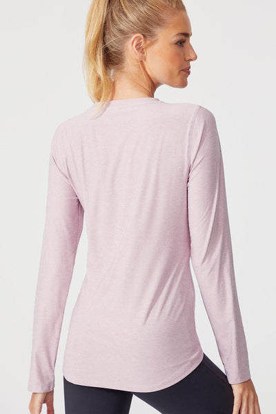 Finish Line Long Sleeve (H. Mauve Shadows)