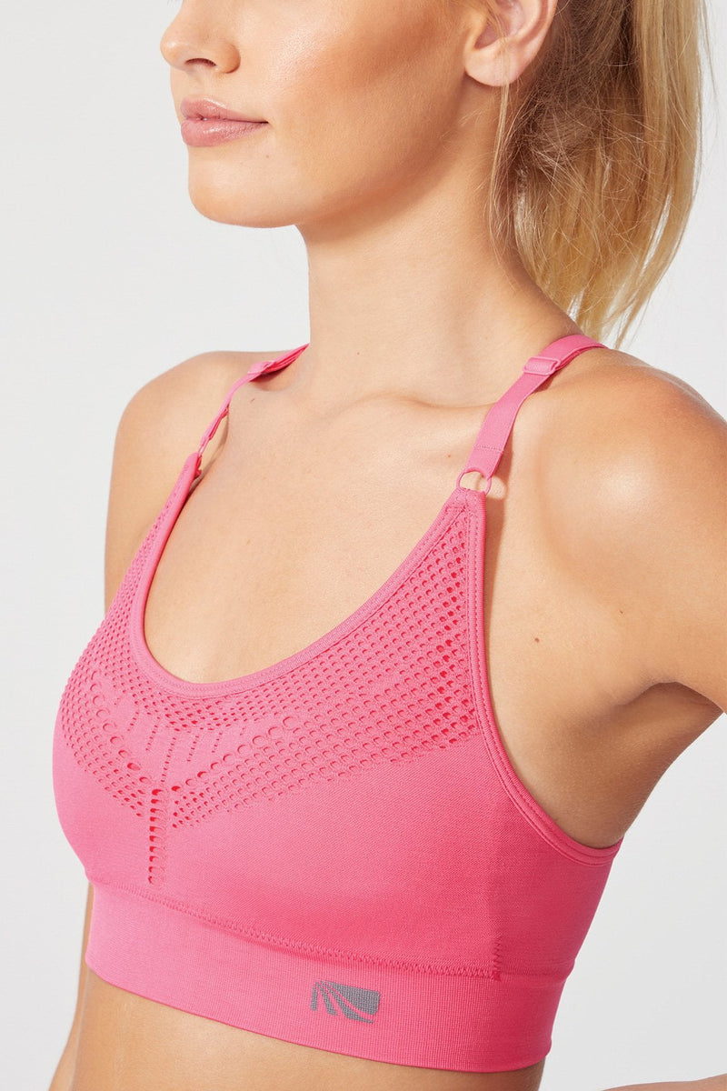 Stella Seamless Bra (Hot Pink)