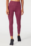 "Trina Ankle 25"" Legging (Fig)"