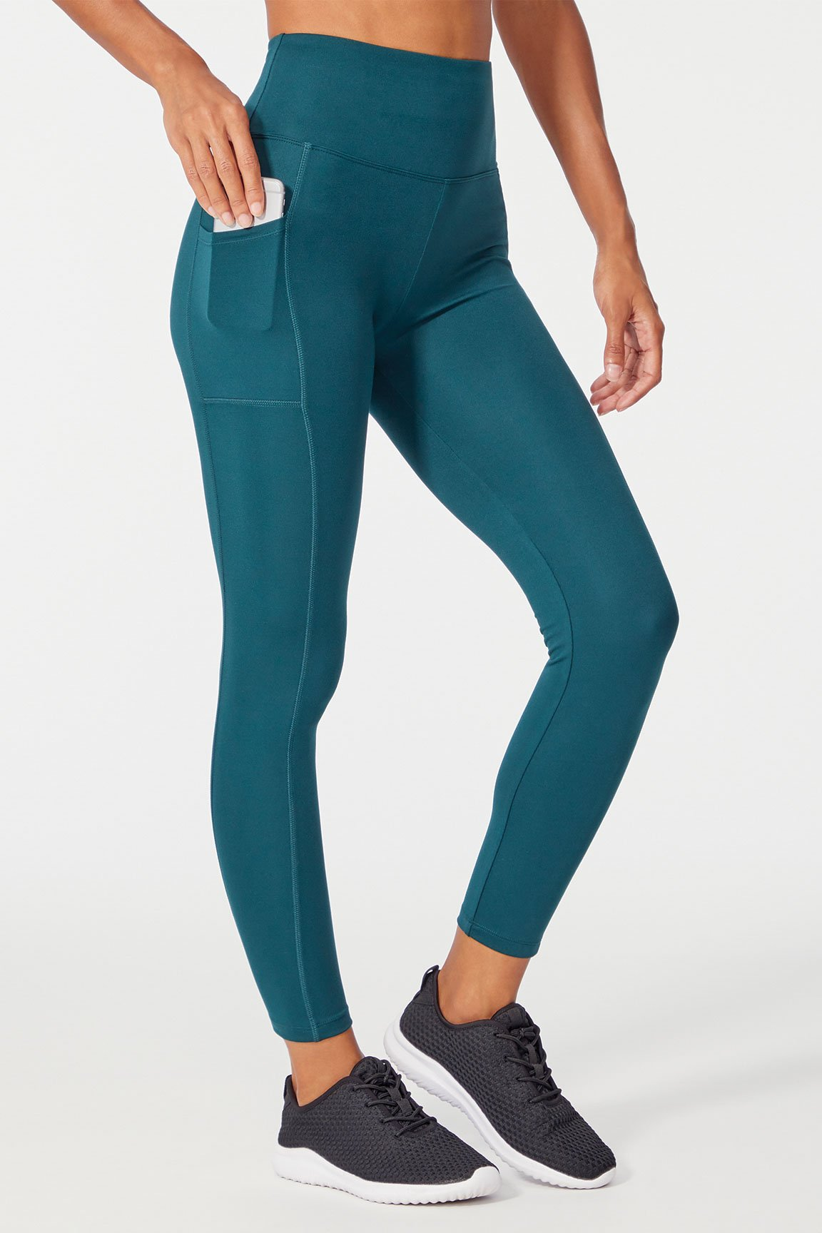 High Rise Pocket Ankle Legging (Ponderosa Pine)
