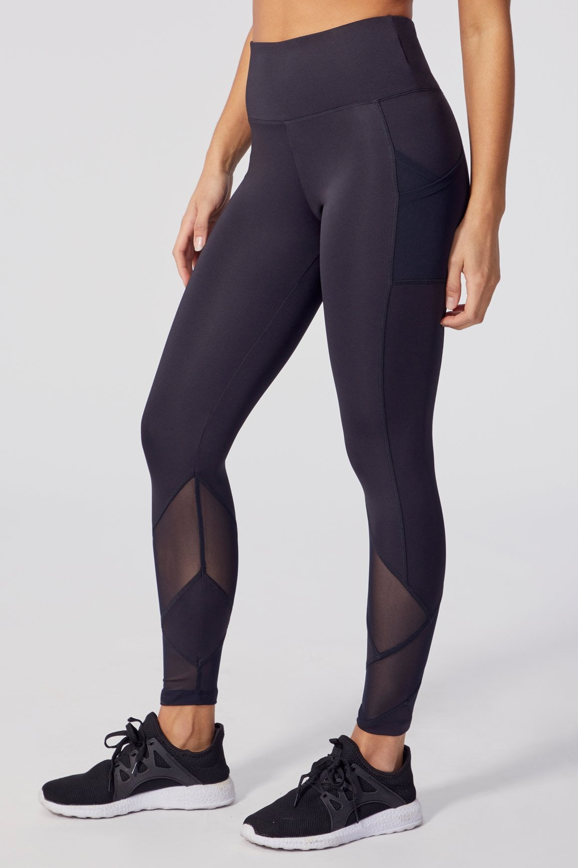 V-set Tummy Control Leggings