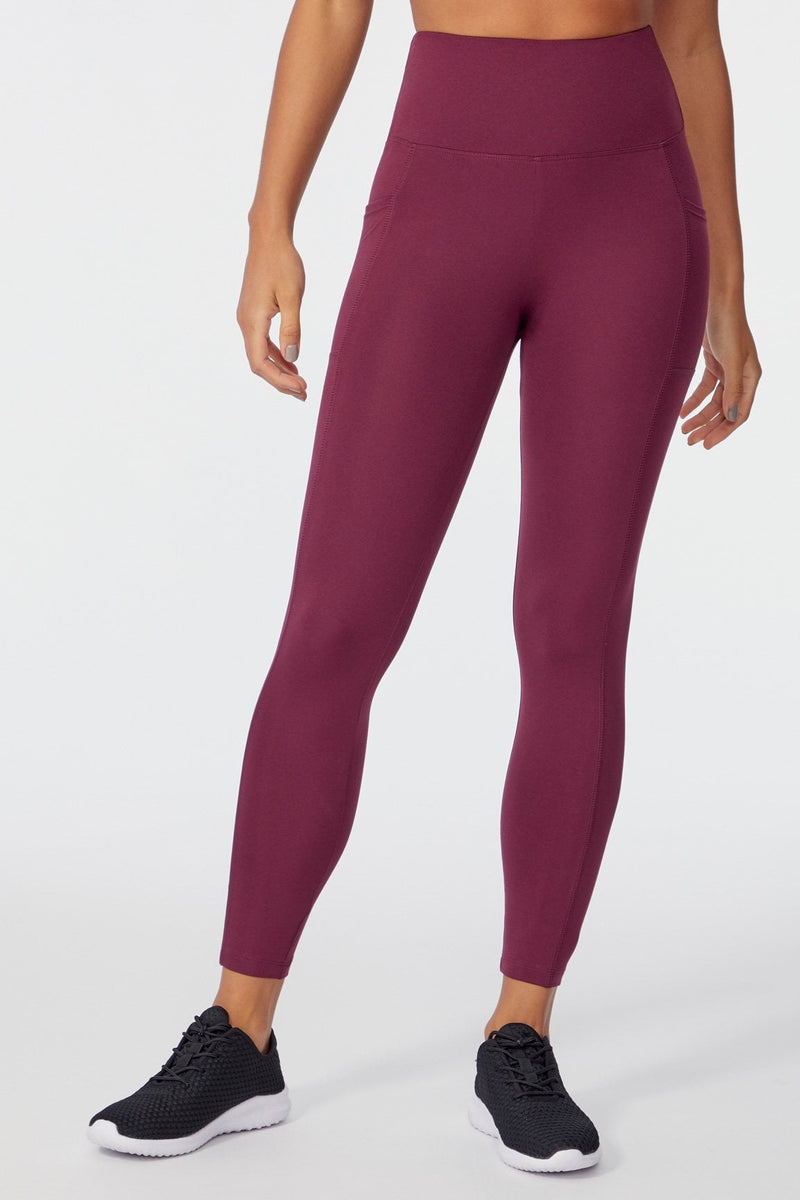 High Rise Ankle Legging (FIG)