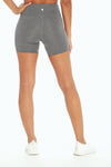 "High Rise Pocket 5"" Short (H. Charcoal)"