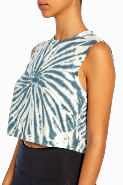 Perry Tie Dye Tank (Blue Coral)