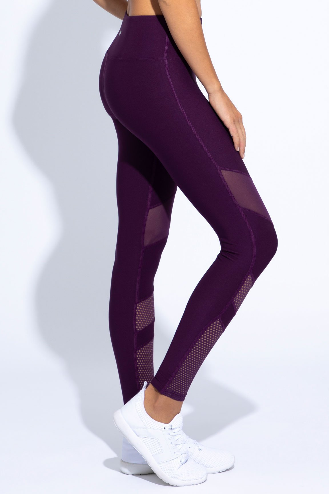 Cardio High Waist Legging (deep purple)