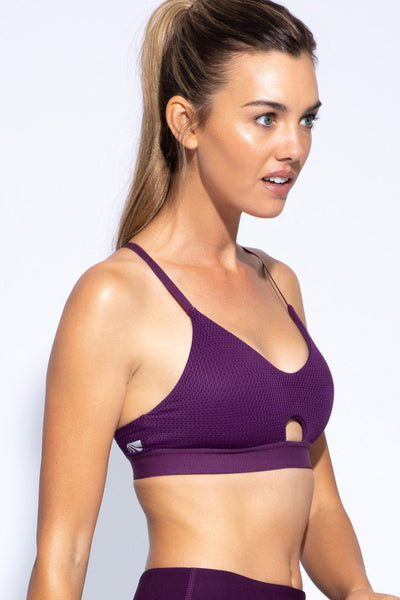 Jordyn Sports Bra (deep purple)