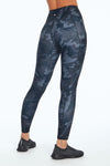 Eclipse Print Legging (Black Classy Abstract)