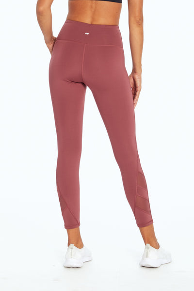 High Waist Angle Legging (Crushed Berry)