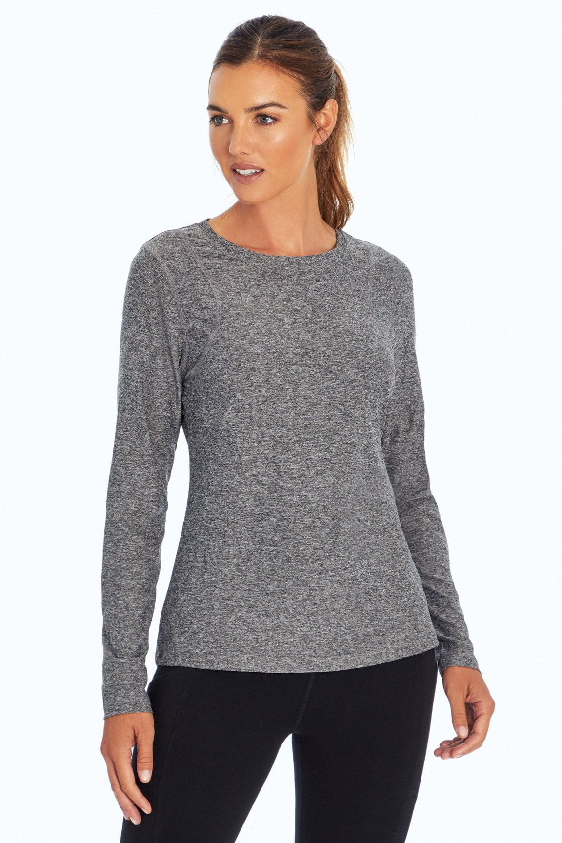 Finish Line Long Sleeve (H. Charcoal)